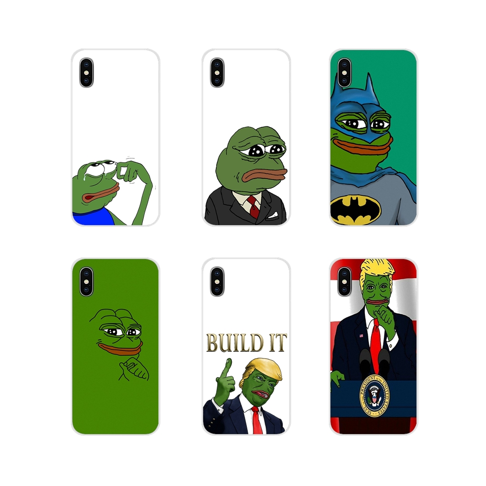 Accessories Phone Shell Covers For Samsung Galaxy J1 J2 J3 J4 J5 J6 J7 J8 Plus 2018 Prime 2015 2016 2017 the frog meme image