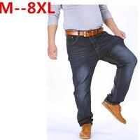 High Stretch Plus Size 52 48 46 44 42 9XL 8XL 7XL 6XL 5XL Jeans Black