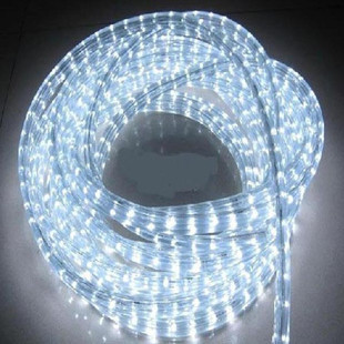 50M 110V 3 wires led rope light DIP 72leds/m led flat rope IP65 outdoor flexible neon li ...
