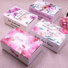 New  Dreamcatcher printed gift box Diy handmade love wedding  favor box gift package box Soap Box Baby Shower