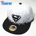 2016 New Baby Boys Girls Snapback Hats Caps Baseball Cap Kids Children Superman Hats 3-10 Years 2 Colors Retail Free Shipping