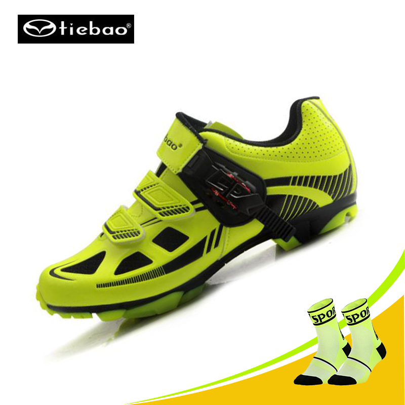 Tiebao Sapatilha Ciclismo Mtb Cycling Shoes Professional Men Breathable Bike Shoes Bicycle Self-Locking Athletic Riding SneakersTiebao Sapatilha Ciclismo Mtb Cycling Shoes Professional Men Breathable Bike Shoes Bicycle Self-Locking Athletic Riding Sneakers