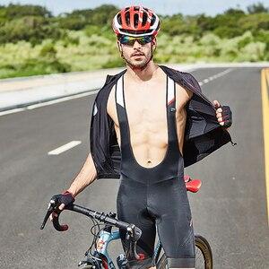 Image 5 - RION Ciclismo Pullover da Uomo Maniche Corte Bicicletta Da Corsa In Discesa Magliette E Camicette Retro 2018 MTB Mountain Bike Motore T camicia Camisa ciclismo