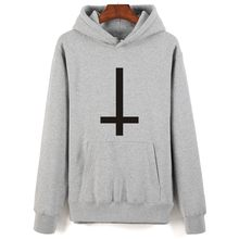 Satan Printing Cartoon Hoodies Men Hip Hop And Hooded New Brand Sweatshirt Men Clothes Fashion Autumn Style with 4 colors(China)