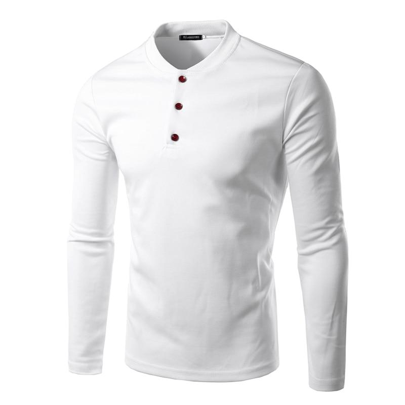 Long Sleeve Quarter Button Shirt | Is Shirt