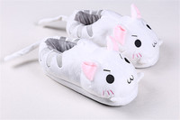 Super Cute Animals Warm Flats Bunny Rabbit Meow Cat Kitty Bear Reindeer Soft Women Indoor Floor