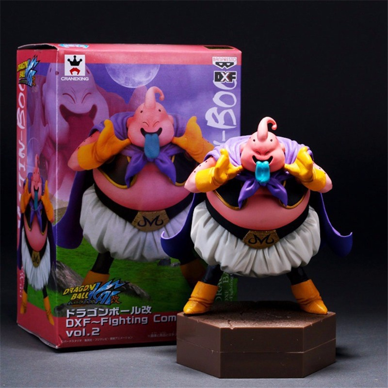 1pc/lot Dragon Ball Z Majin Buu DXF Fighting Combination Brinquedos PVC Action Figure Juguetes Collection Model Kids Toys 14cm 1pcs 48cm dragon ball z super big majin buu pvc action figure collectible model toy boxed great gift free shipping