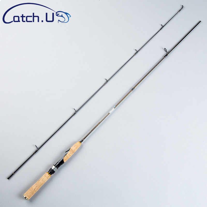 Capture. U 1.8M canne à pêche carpe, cannes à pêche leurre ultra-léger rotation tige voyage