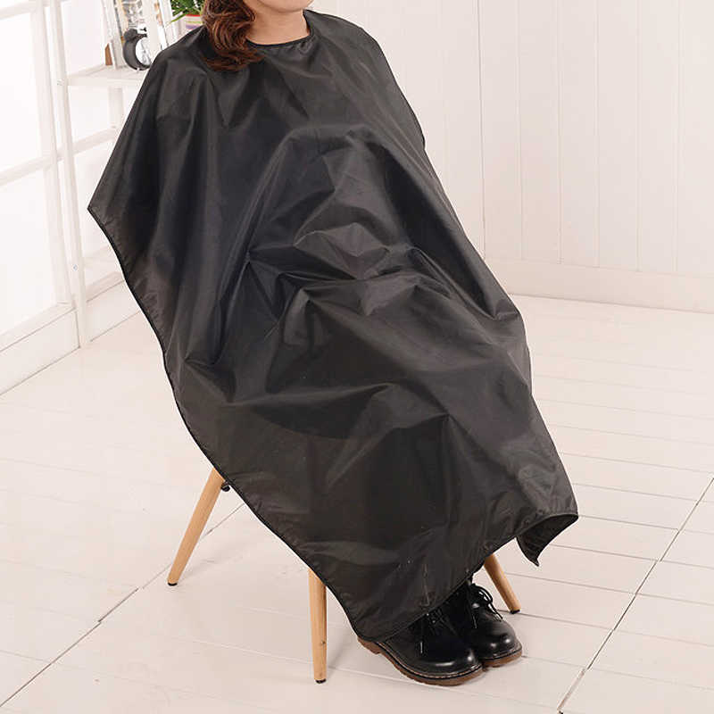 Professional ตัดผมผ้ากันน้ำ Salon Barber Gown Cape Hairdressing Hairdresser หมวกประมาณ 140 ซม. x 90 ซม. สำหรับผู้ใหญ่