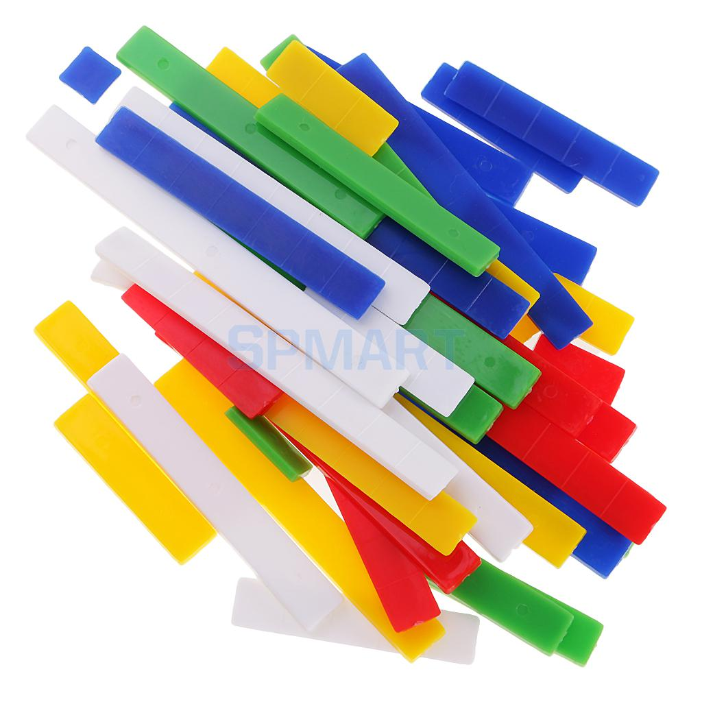 Montessori Arithmetic Rulers 1-10cm Kids Math Counting Number Learning Toys
