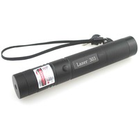 TopLaser 303 650nm Red Focusing LED Laser Pointer + 1x18650 +1x Charger + Gift Box