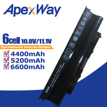 5200mAh Laptop Battery 04YRJH 07XFJJ 312-0233 383CW 451-11510 J1KND  For DELL Inspiron 13R 3010-D330 3010-D370HK 3010-D520 N3010