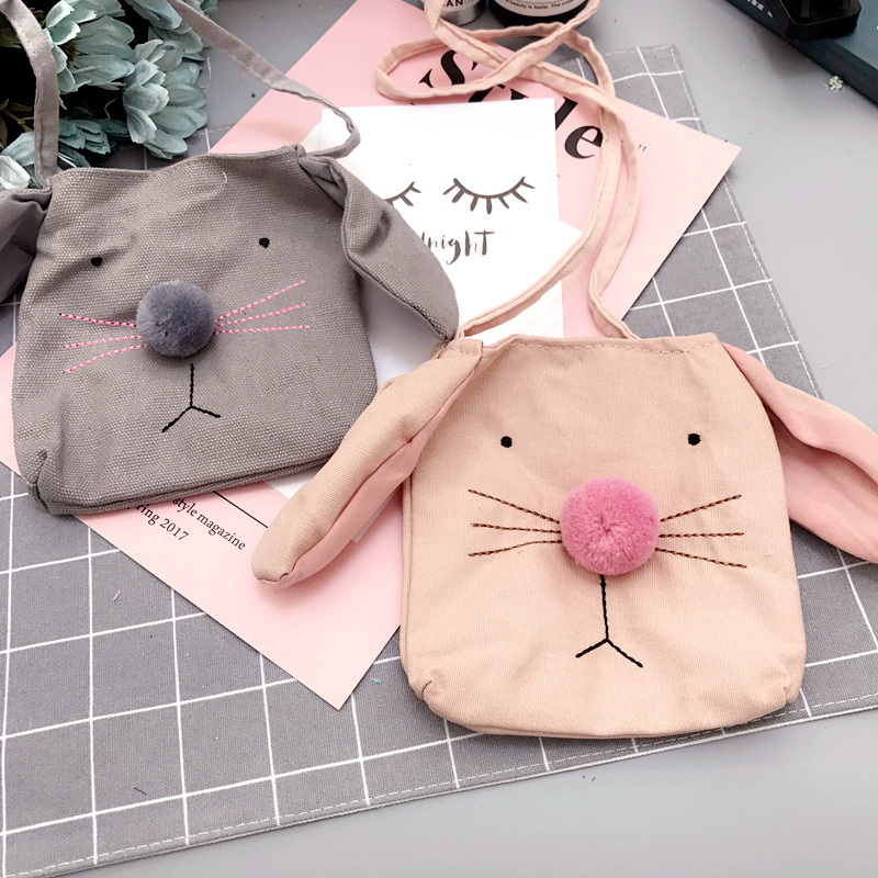 Korea Cute Faric Dog Head Necklace Pendant Bag Baby Chain Collar Fashion Jewelry Children Girl Accessories SWCGNLB018F in Pendant Necklaces from Jewelry Accessories