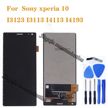 6.0 Original for Sony Xperia 10 I3123 I3113 I4113 I4193 LCD+touch screen digitizer instead LCD repair parts