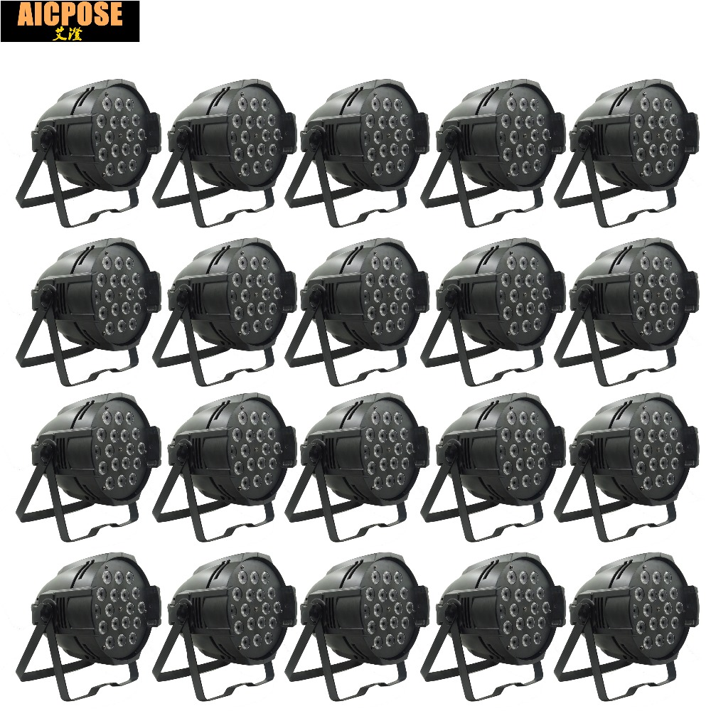 20pcs/lots 18*12w Lights Power in and out LED Par 18x12W RGBW 4in1 LED Par Can Par 64 led spotlight dj projector stage light 4pcs lot aluminum led par 18x12w rgbw 4in1 led par can par 64 led spotlight dj projector wash ligh with power in power out