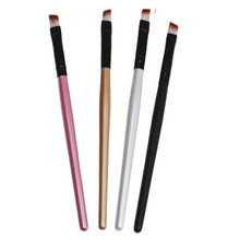 2017 Women Portable 1pcs Professional Eyebrow Eye Liner Brow Eye Shadow Makeup Brushes Shader Makeup Brush Cosmetics Tools ar12