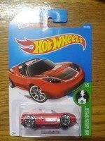 Hot Wheels 1 64 Tesla Roadster Metal Diecast Cars Collection Kids Toys Vehicle For Children Models