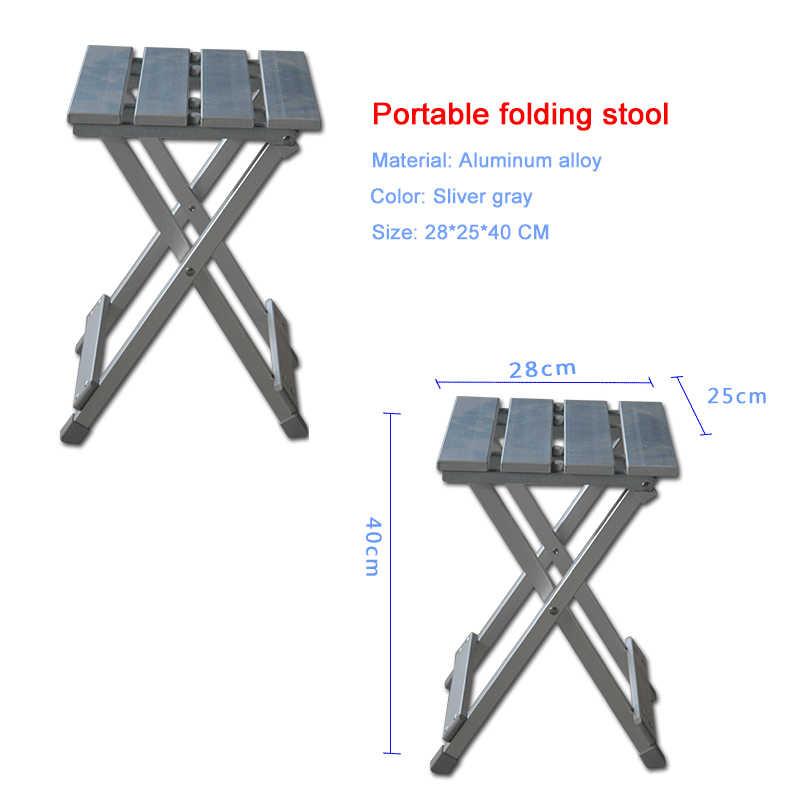 Открытый алюминиевый сплав складной стул для отдыха портативный мазар табуреты путешествия Пикник стулья