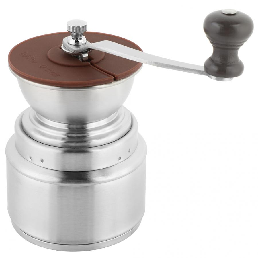 Manual Coffee Grinder Stainless Steel Manual Coffee Bean Rice Mill Grinder Household kitchen tool