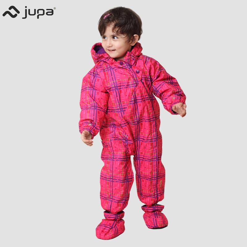JUPA Newborn Baby girls Rompers Winter Thick Warm toddler Hooded Jumpsuit Kids Outwear boys feathers cotton Clothing suit 2017 new baby rompers winter thick warm baby girl boy clothing long sleeve hooded jumpsuit kids newborn outwear for 1 3t