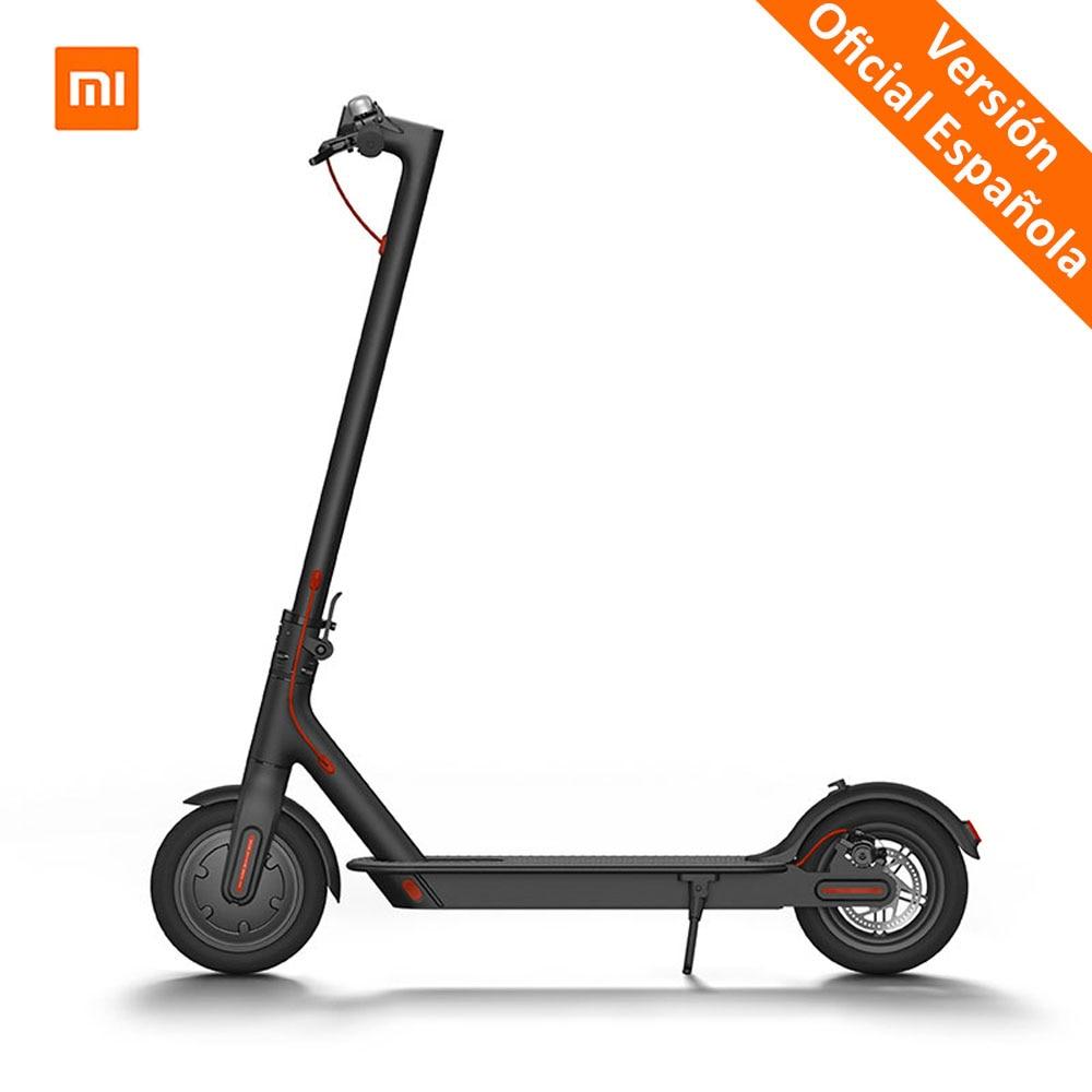 Original Xiaomi Mijia M365 Smart Scooter Eléctrico plegable patinete para adultos ligero Longboard 30 km Scooter