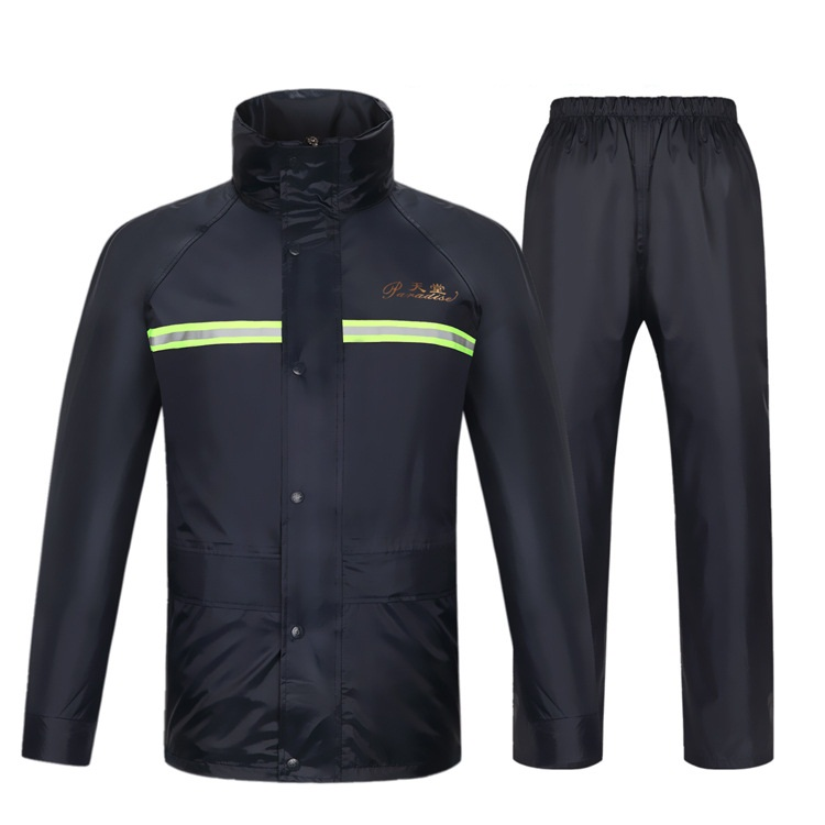 Imperméables imperméables moto électrique imperméable costume hommes et femmes fission vélo veste de pluie costume avec bande réfléchissante