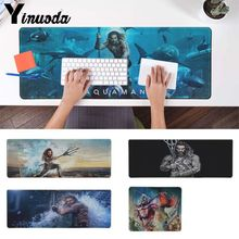 Yinuoda Hot Sales Aquaman movie Customized laptop Gaming mouse pad Pad To Mouse