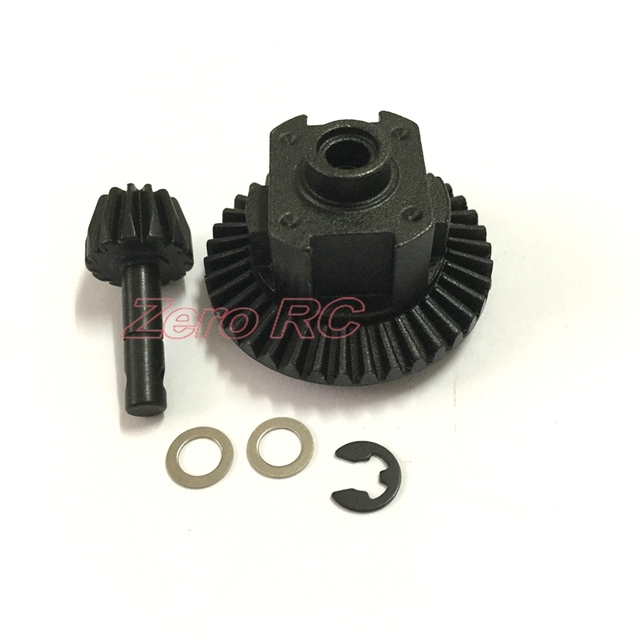 how to model a crown gear set