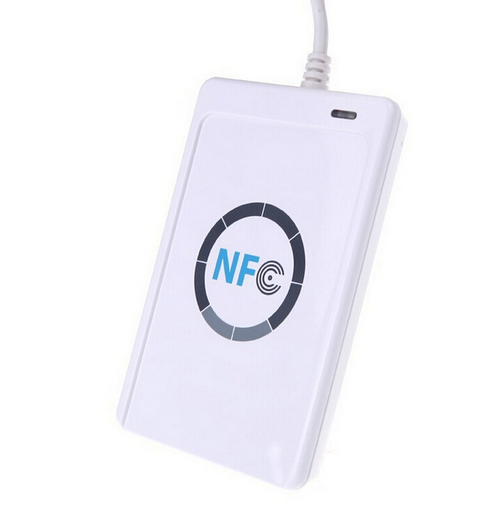JAKCOM USB ACR122u NFC Contactless Smart IC Card Reader Copy 13.56mhz IC Card writer support all 4 types for R3 Smart Ring