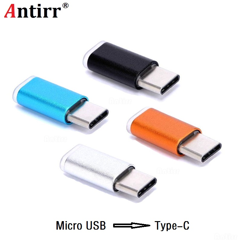 Micro USB To Type C USB Charge Cable Adapter Convertor For Huawei Mate9 P9 P10 LG G5/G6 Samsung S8 Plus ZUK Z2 Charger