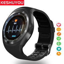 KESHUYOU Y1 plus  Android Smart Watch Men/Women Smart Watch Kids Smartwatch Android Sim Card Smart Clock For Xiaomi /Huawei