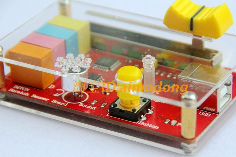 Scratch board scratch board sensor plate picoboard