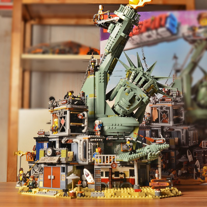 Welcome To APOCALYPSEBURG Compatible LegoSet Movie Series <font><b>70840</b></font> Building Blocks Bricks Toys Birthday Christmas Gifts Figures image