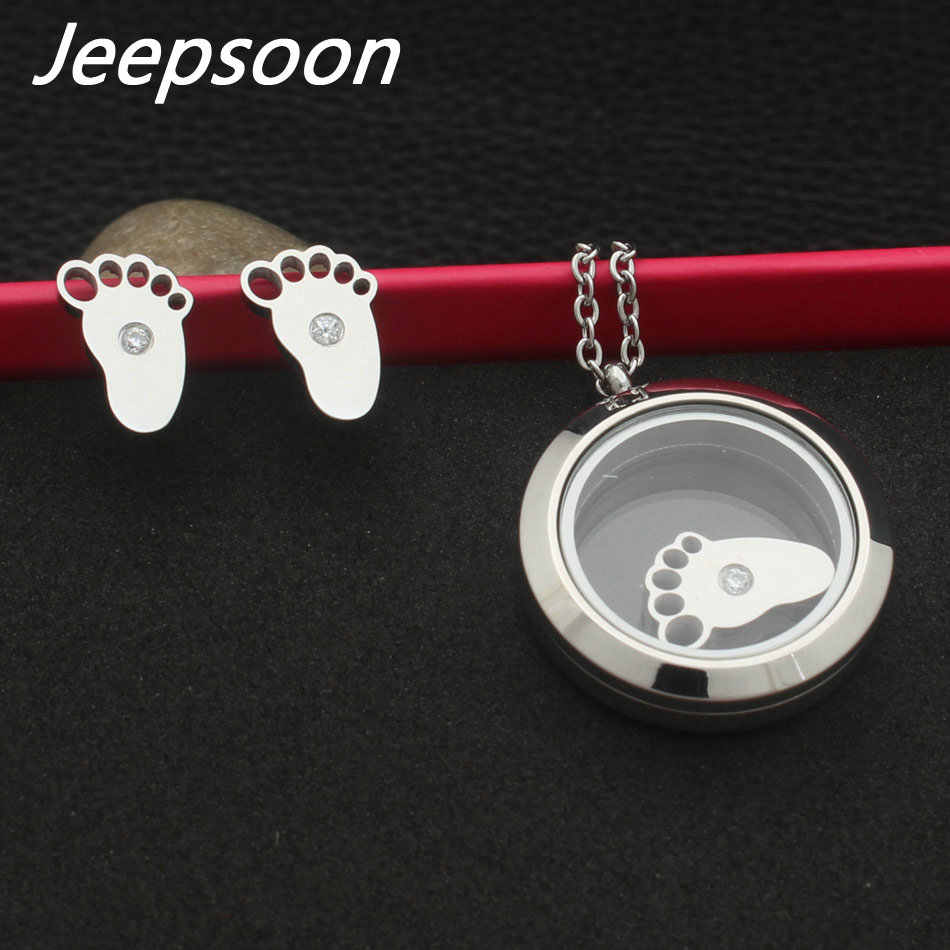 ¡Novedad! ¡venta al por mayor! conjuntos de pendientes y colgantes de acero inoxidable para mujer SBJJAKBJ