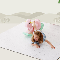 Baby EVA Foam Play Puzzle Mat Interlocking Exercise Gypsophila Floor Carpet Rug For Kid Toys Carpet For Children Each 50*50cm