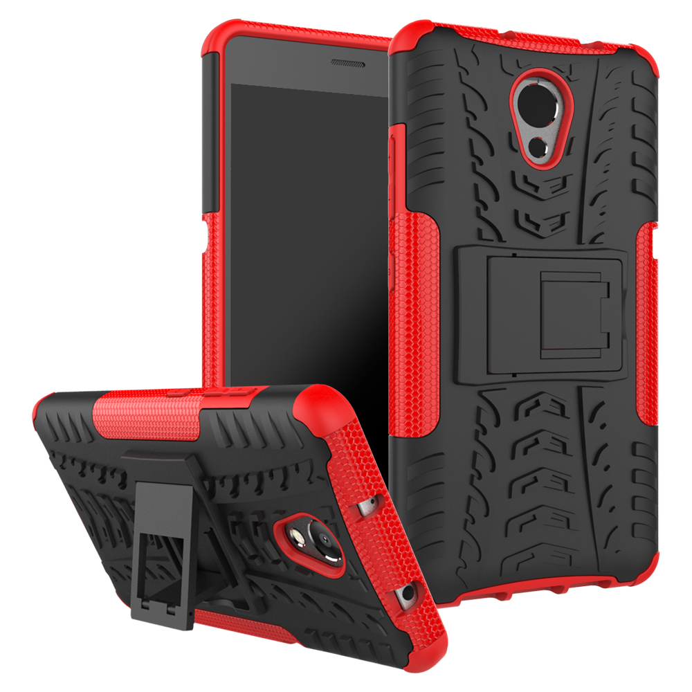 Voor Lenovo Vibe P2 C72 Case 5.5inch TPU & PC Dual Armor Capa met Stand Hard Silicone Cover Voor Lenovo P2 P2c72 P2a42 Telefoon Case