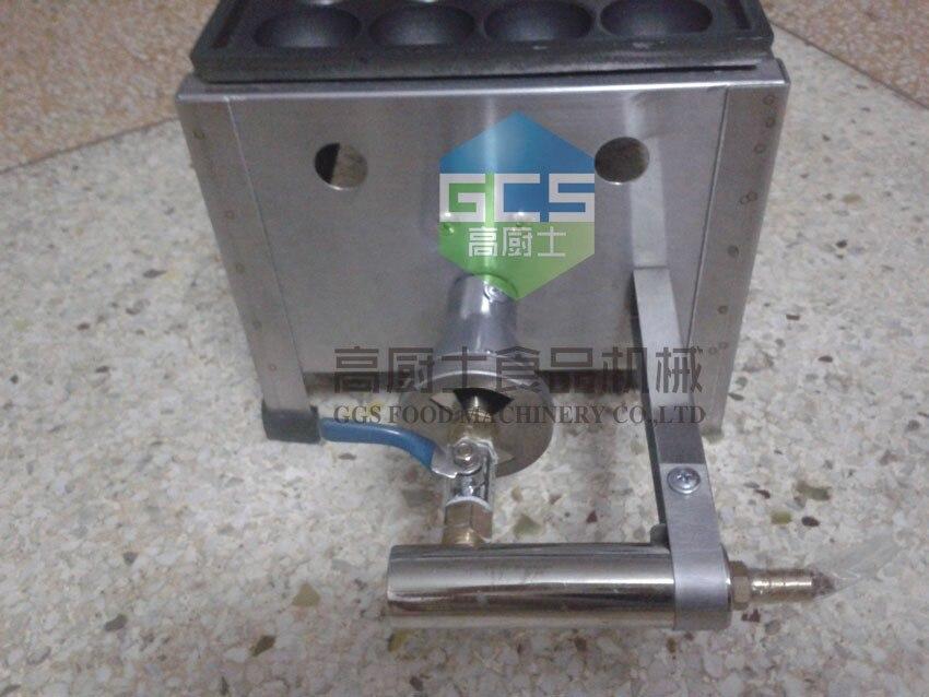 Газовый гриль для рыбных шариков Фрикаделька печь такояки машина