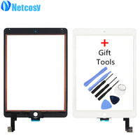 New Touch Screen Digitizer Front Touch Panel Glass Lens For IPad Air 2 6 TouchScreen Replacement