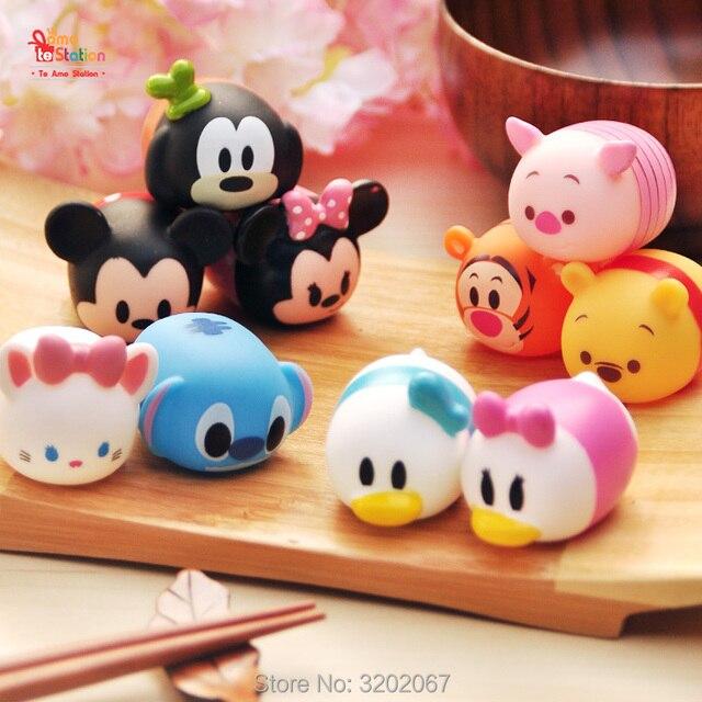Produzione Giocattoli In Plastica.Carino Mini Winnie Mickey Mouse Stitch Giocattolo Di Plastica