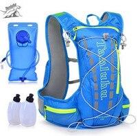 TANLUHU Trail Running Bag 15L Hydration Backpack Jogging Sport Vest Waist Pack For Climbing Running Hiking
