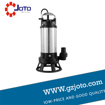 1HP 220V 5m3/h 18m head Single Phase Stainless steel Sewage Pump image