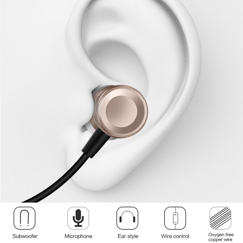 Super Bass Stereo Earphone 3.5mm Jack Headset Hands Free Headphone With Mic Music Earphone For Samsung Iphone Pc #6
