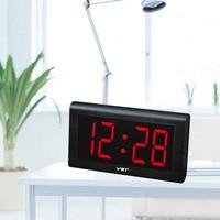 Jumbo 4 inch LED Alarm Clock Digital Electronic Display Wall Desk Home Decor !