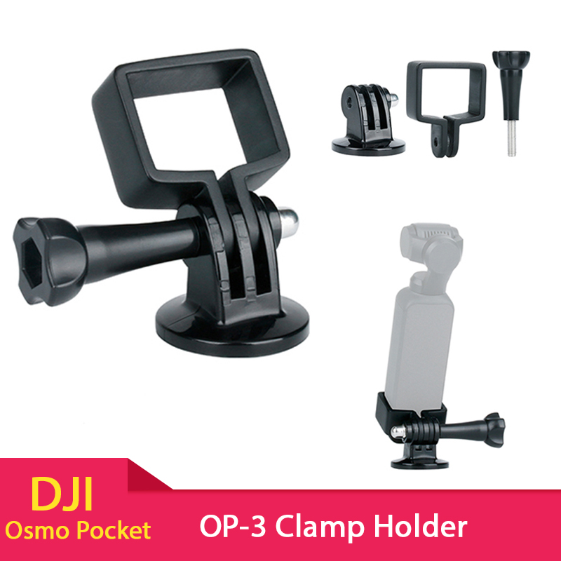 ULANZI OP-3 DJI Osmo Pocket Extension Fixed Stand Holder with GoPro Adapter for Tripods, for DJI Osmo Pocket Gimbal AccessoriesULANZI OP-3 DJI Osmo Pocket Extension Fixed Stand Holder with GoPro Adapter for Tripods, for DJI Osmo Pocket Gimbal Accessories