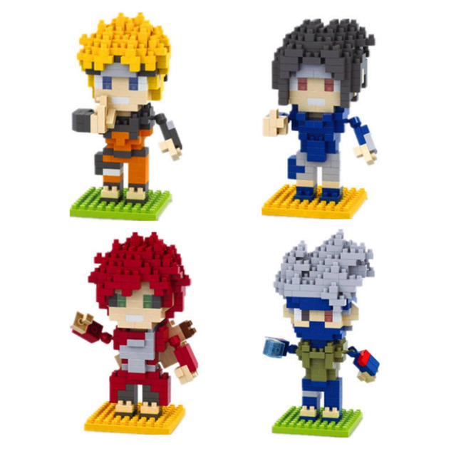 Naruto Action Figures ABS doll DIY Mini Model Toys Quality Christmas Present Gift for Kids