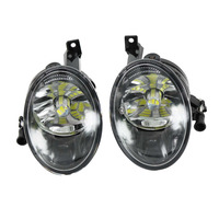 2Pcs For VW Tiguan 2012 2013 2014 2015 2016 Front LED Fog Light Fog Lamp With LED Bulbs