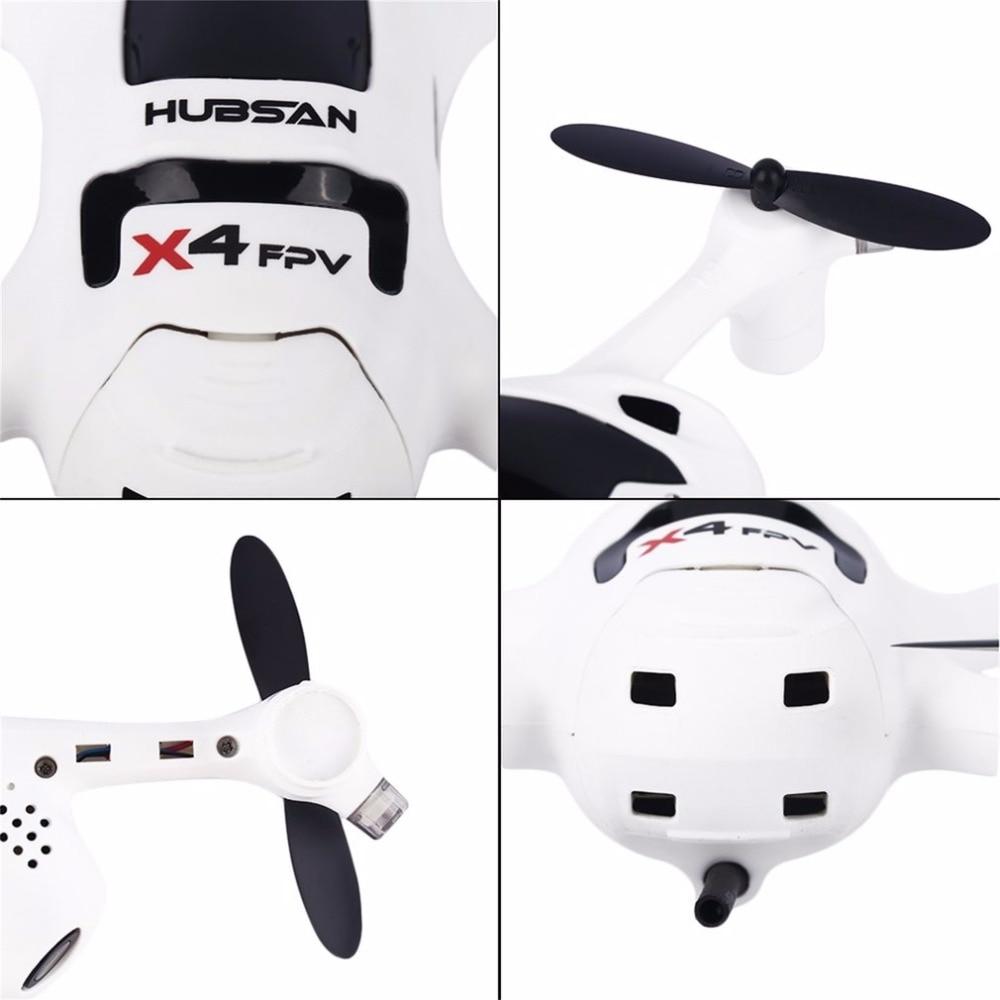 Белый 720 P Камера 2,4G 4CH RC Quadcopter RTF для Hubsan FPV X4 плюс H107D + маленький FPV Quadcopter - 3
