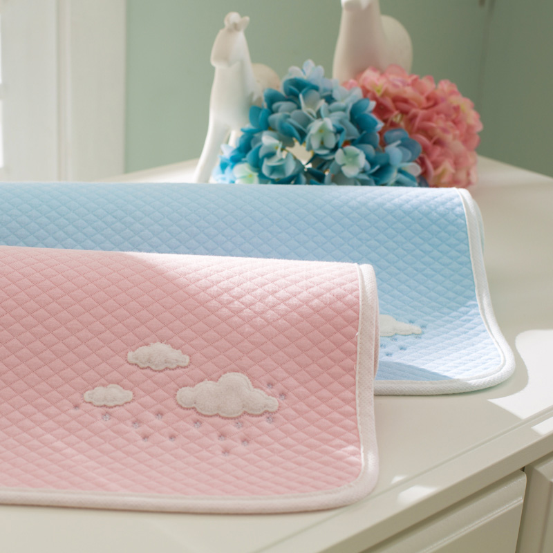 Baby Changing Mat 5 Layers Diaper Waterproof pad for infants bebe can used as menopad cotton Newborn Nappie washable Mattress baby cotton changing mat portable foldable washable infants changing mat diaper pad changing pads