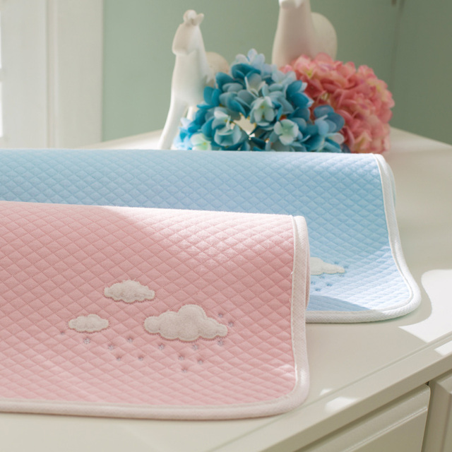 Baby Changing Mat 5 Layers Diaper Waterproof pad for infants bebe can used as menopad cotton Newborn Nappie washable Mattress