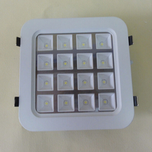 Free Shipping High quality 16W LED Panel Light Square Led Ceiling Down Light  AC85-265V CE/ROHS 10pcs/lot
